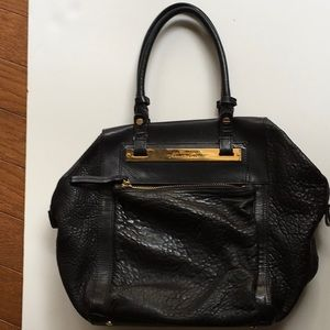 KENNETH COLE black leather bag